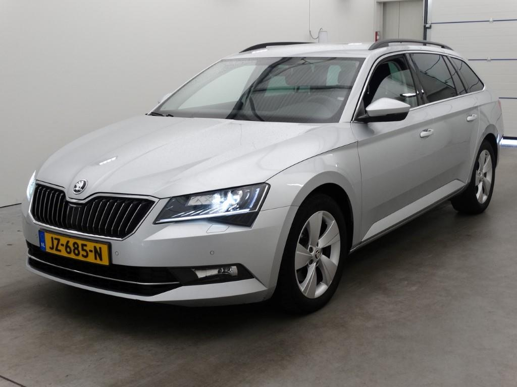 skoda superb combi als occasion lease 21 bijtelling leaseroute. Black Bedroom Furniture Sets. Home Design Ideas